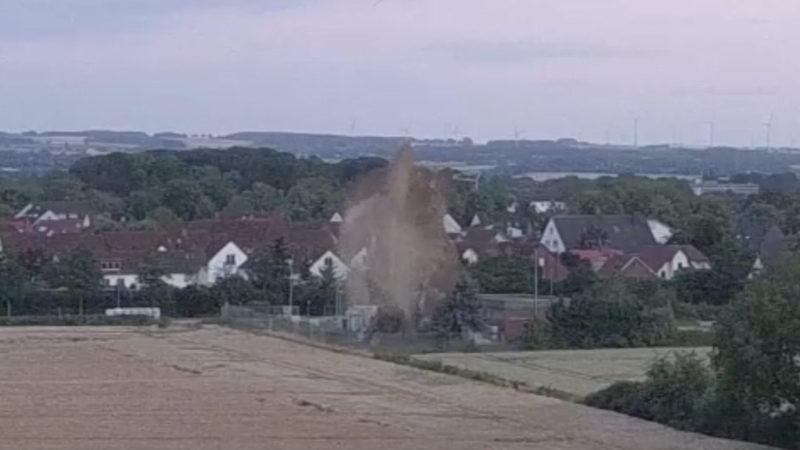 500 Kilo Bombe wird gesprengt (Foto: SAT.1 NRW)