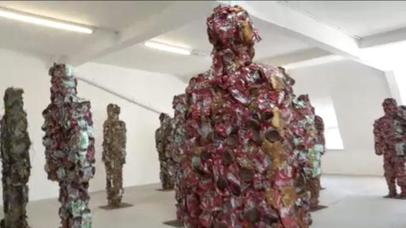 """""""Trashpeople"""" Ausstellung zurück in Düsseldorf (Foto: SAT.1 NRW)"""