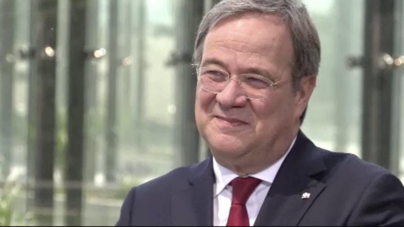 Sommerinterview mit NRW Minsterpräsident Armin Laschet Teil 2 (Foto: SAT.1 NRW)