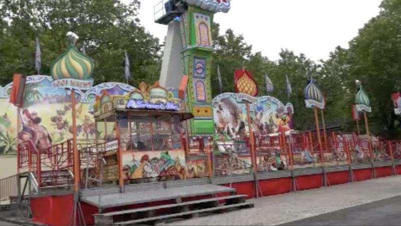 Mobiler Freizeitpark statt Kirmes (Foto: SAT.1 NRW)