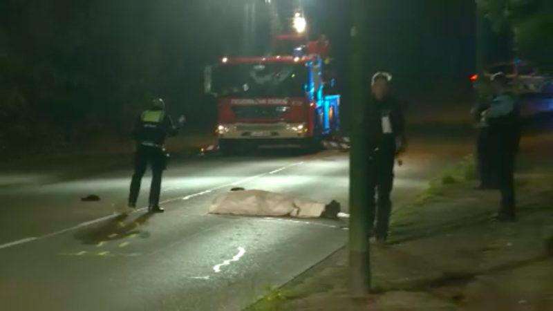 Toter Mann auf Straße gefunden (Foto: SAT.1 NRW)