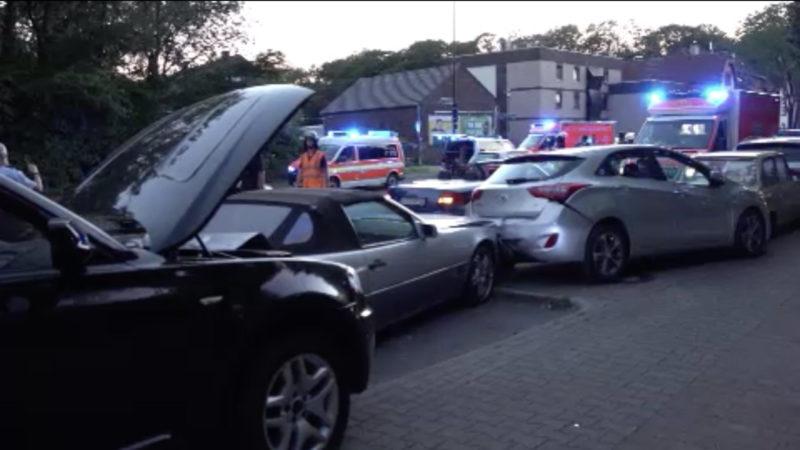 Ungeklärter Unfall: Angriff auf offener Straße (Foto: SAT.1 NRW)