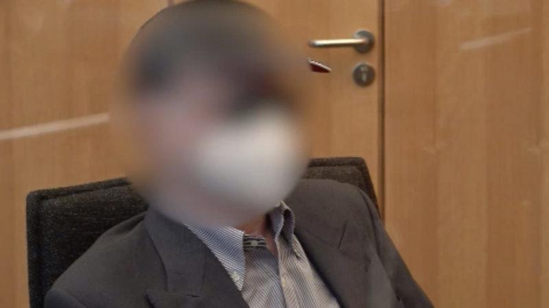 """""""Falscher"""" Arzt vor Gericht (Foto: SAT.1 NRW)"""