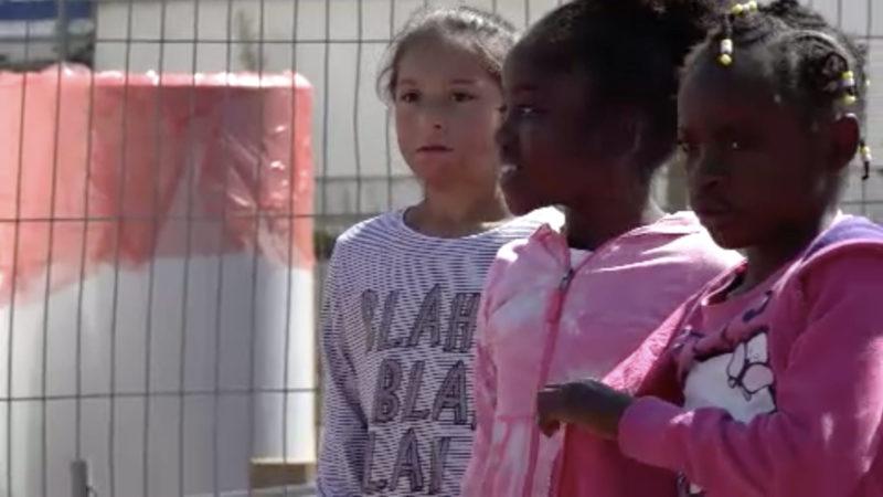 Keine Rückkehr für Friedensdorf-Kinder (Foto: SAT.1 NRW)