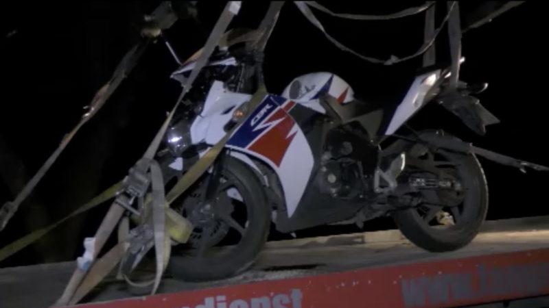 19-Jähriger stirbt bei Motorrad-Unfall (Foto: SAT.1 NRW)