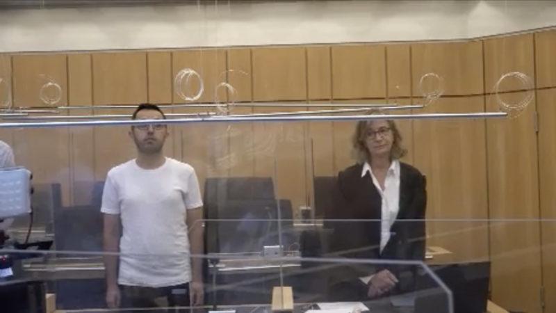 Prozess: Angeklagter soll Opfer aus Eifersucht erstochen haben (Foto: SAT.1 NRW)
