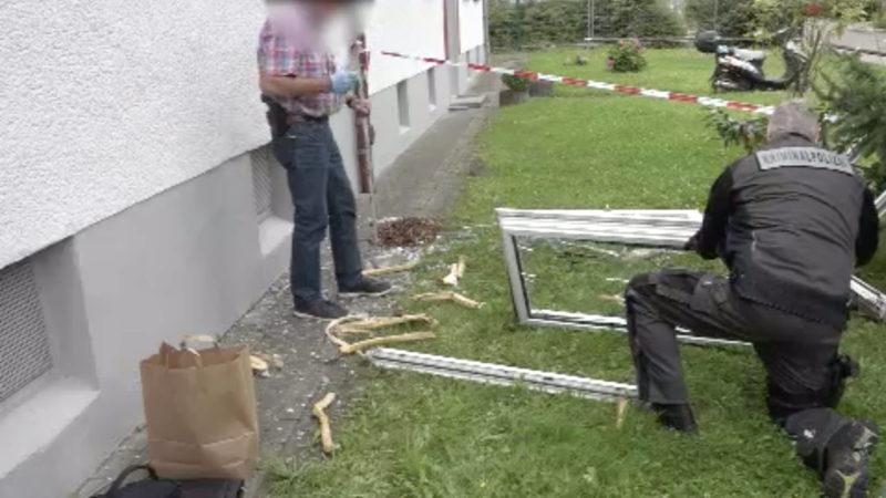 Explosion in Mehrfamilienhaus in Hamm (Foto: SAT.1 NRW)