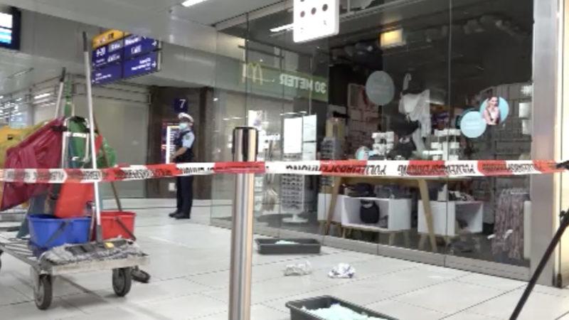 Düsseldorfer Hauptbahnhof entgeht Brandanschlag (Foto: SAT.1 NRW)