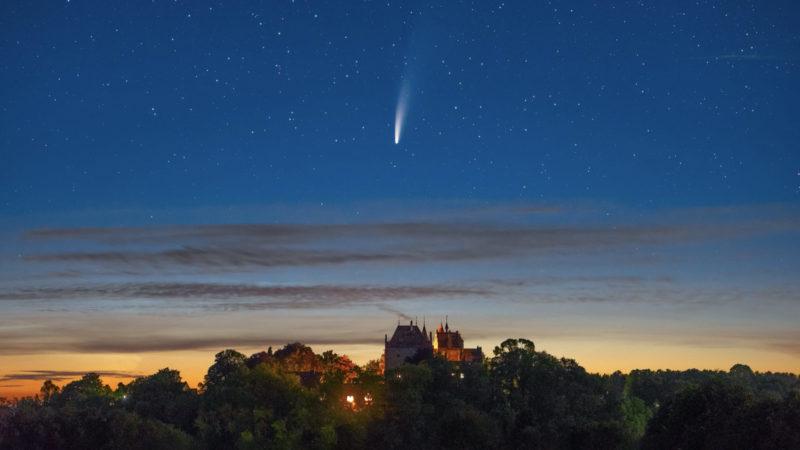 """Komet """"Neowise"""" heute ganz nah (Foto: SAT.1 NRW)"""