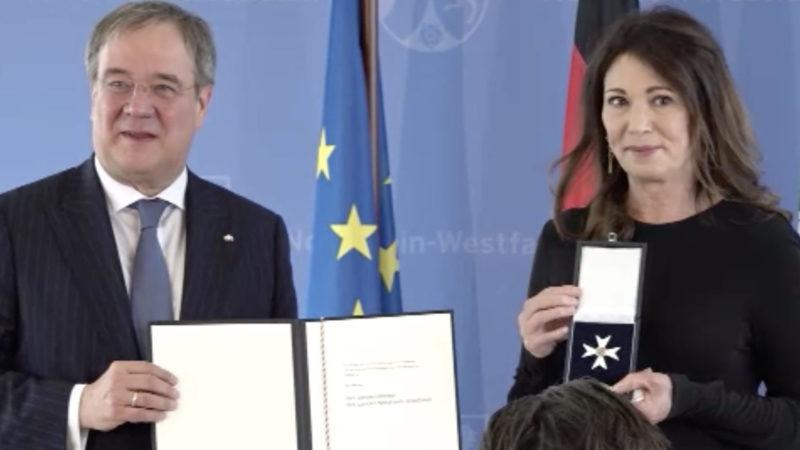 Orden für Berben (Foto: SAT.1 NRW)