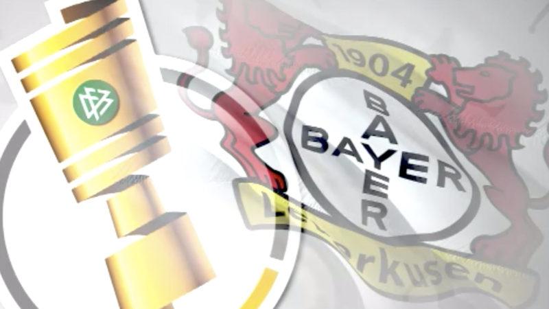 Leverkusen freut sich auf Pokal Finale (Foto: SAT.1 NRW)