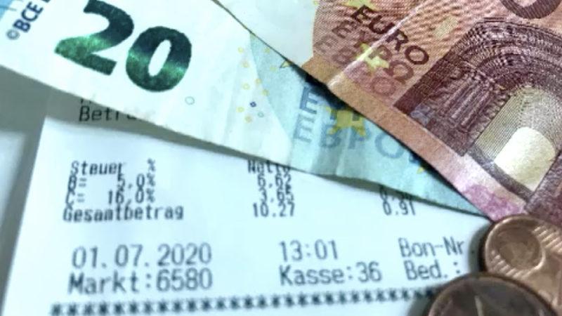 Mehrwertsteuer wird ab heute gesenkt (Foto: SAT.1 NRW)