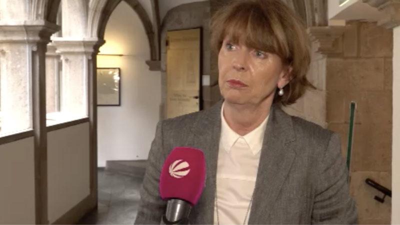 Henriette Reker will durchgreifen (Foto: SAT.1 NRW)
