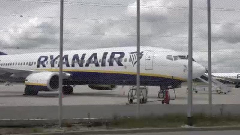 RyanAir vor dem Aus in Weeze? (Foto: SAT.1 NRW)