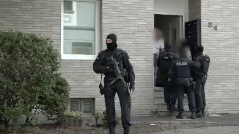 Terror Razzia in Essen und Hildesheim (Foto: SAT.1 NRW)