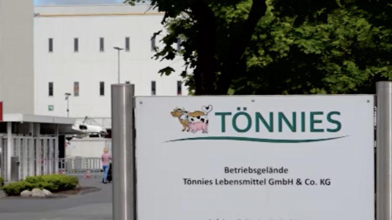 Wohnverhältnisse der Tönnies-Mitarbeiter (Foto: SAT.1 NRW)