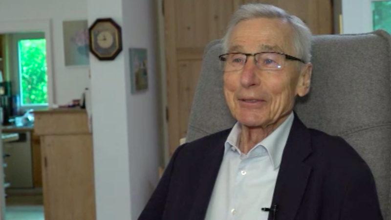 Wolfgang Clement wird 80 (Foto: SAT.1 NRW)