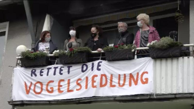 Bochumer kämpfen um ihre Häuser (Foto: SAT.1 NRW)
