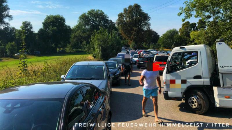 Falschparker gefährden Menschenleben (Foto: SAT.1 NRW)