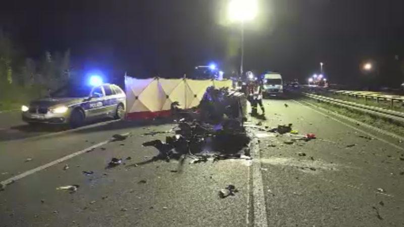 Rätselhafter Unfall (Foto: SAT.1 NRW)
