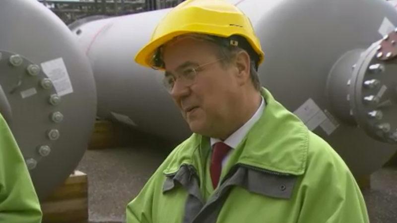 Ministerpräsident besucht Schleswig-Holstein (Foto: SAT.1 NRW)