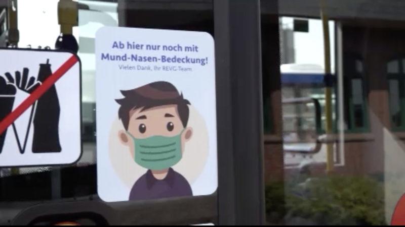 NRW überprüft am Montag die Maskenpflicht (Foto: SAT.1 NRW)