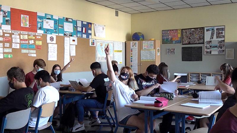 Masken-Gruppenzwang in Schulen? (Foto: SAT.1 NRW)