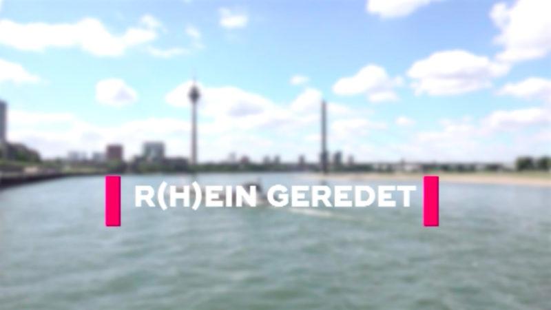 Rhein-geredet - mit NRW-Umweltministerin Ursula Heinen-Esser (Foto: SAT.1 NRW)