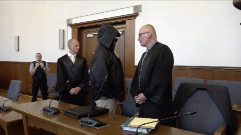 Neubeginn des Schalla-Prozess in Dortmund (Foto: SAT.1 NRW)
