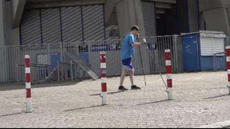 Bochum-Fan im Lauf gegen seine Krankheit (Foto: SAT.1 NRW)