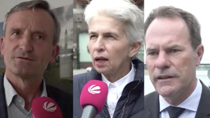 Wer wird Düsseldorfs Oberbürgermeister? (Foto: SAT.1 NRW)