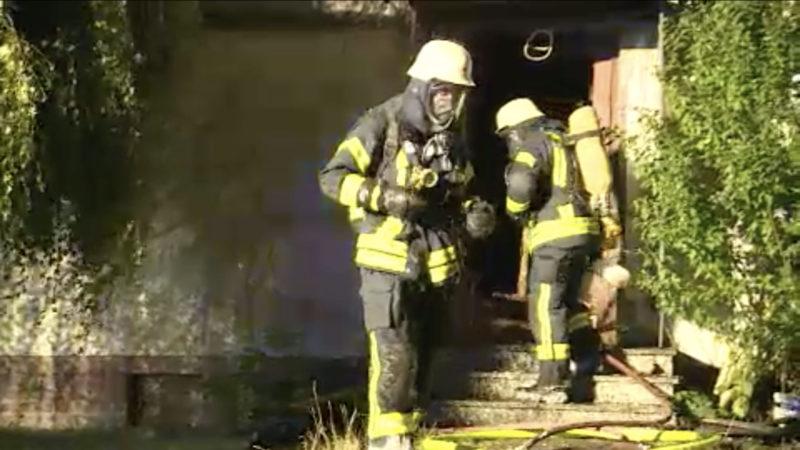 Frau nach Brand gestorben (Foto: SAT.1 NRW)