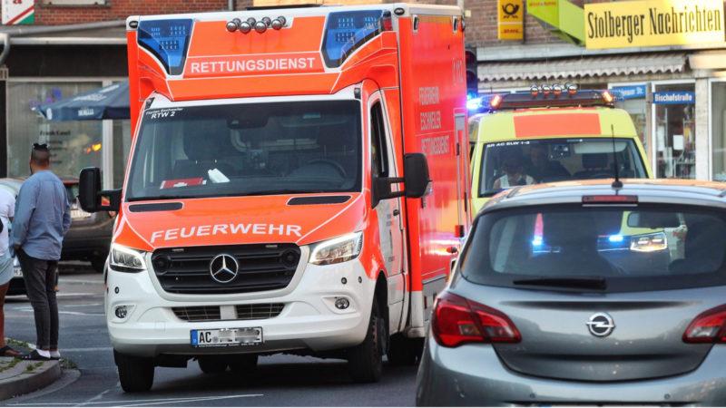 Islamistischer Angriff in Aachen? (Foto: SAT.1 NRW)