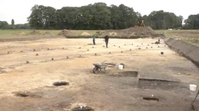 Spuren mittelalterlicher Siedlung entdeckt (Foto: SAT.1 NRW)