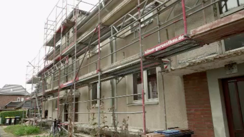 Mieter leben auf Baustelle (Foto: SAT.1 NRW)