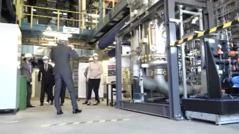 Chemiekonzern startet Pilotprojekt (Foto: SAT.1 NRW)