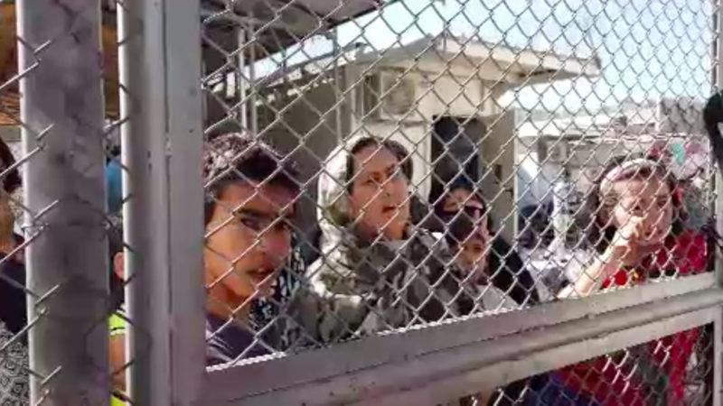 Wohin kommen die Moria-Flüchtlinge? (Foto: SAT.1 NRW)