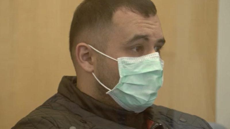 Mutmaßlicher IS-Terrorist vor Gericht (Foto: SAT.1 NRW)