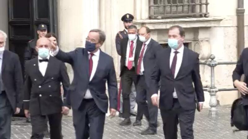 NRW-Ministerpräsident zu Gast in Rom (Foto: SAT.1 NRW)