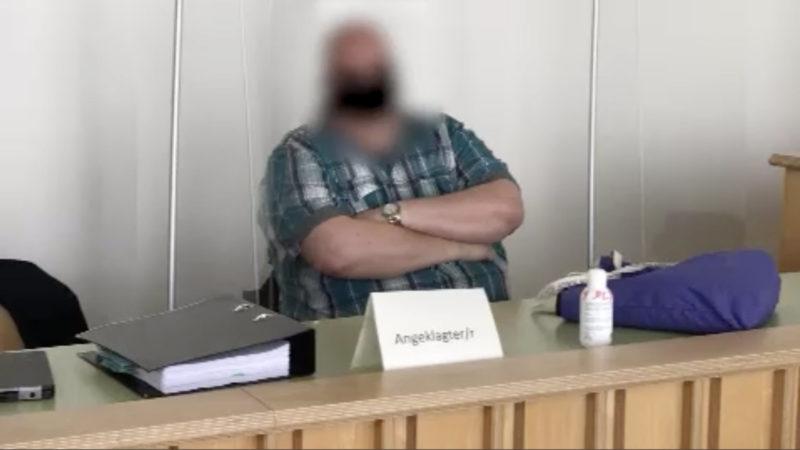 Prozessbeginn gegen Lokführer (Foto: SAT.1 NRW)