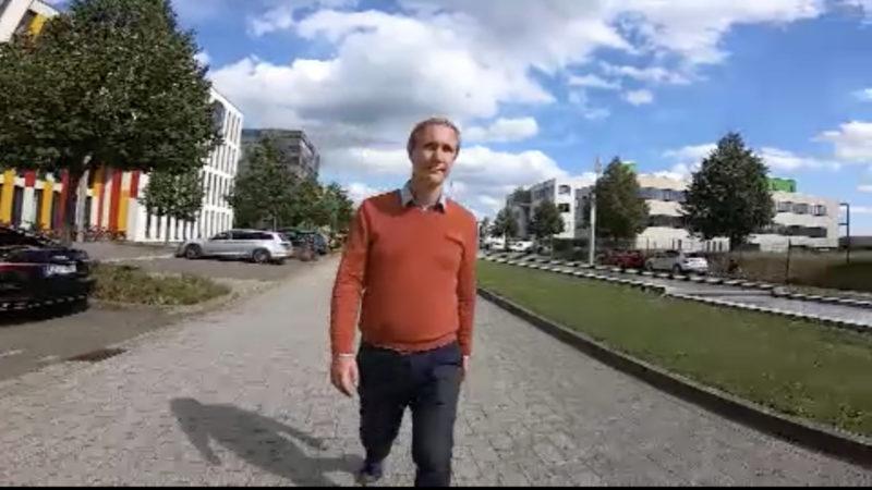 Bleibt Daniel Zimmermann Bürgermeister? (Foto: SAT.1 NRW)