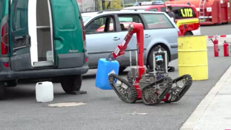 Roboter für NRW-Feuerwehren (Foto: SAT.1 NRW)