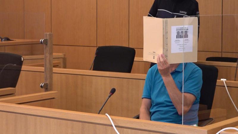 Prozess gegen Steinwerfer (Foto: SAT.1 NRW)