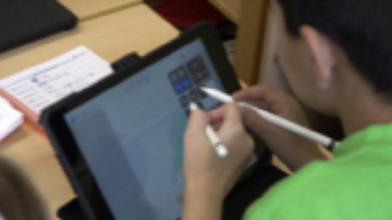 Schule kauft Tablets (Foto: SAT.1 NRW)