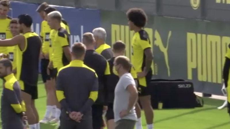BVB-Vorbereitung für Champions-League (Foto: SAT.1 NRW)