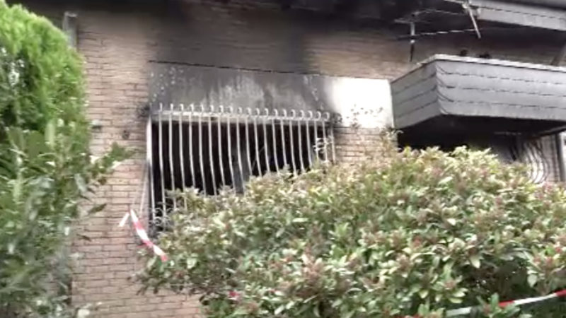 Mann aus Kaarst kommt bei Feuer um (Foto: SAT.1 NRW)