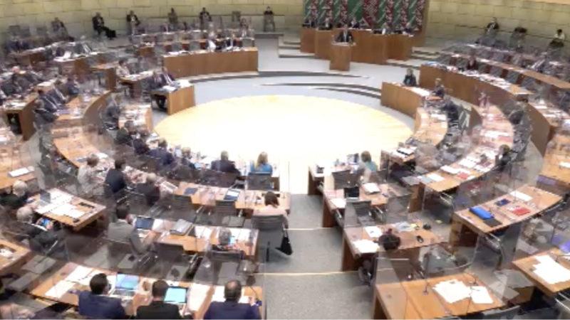 NRW Haushalt für 2021 (Foto: SAT.1 NRW)