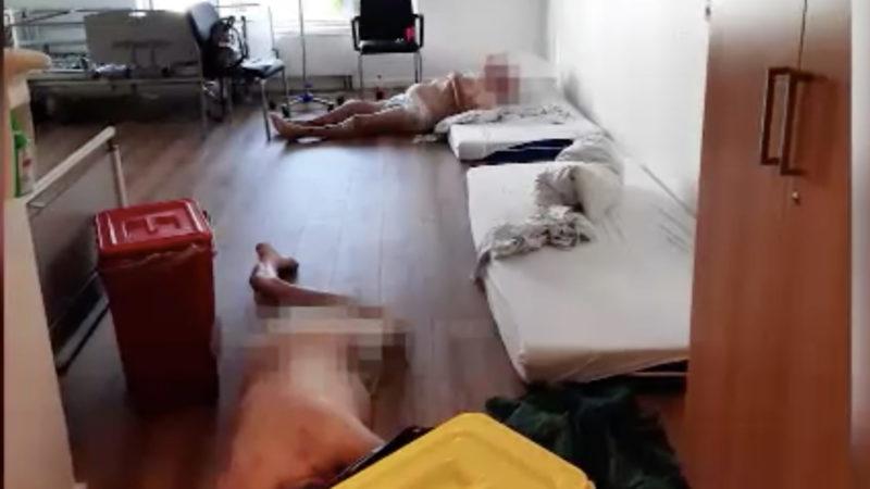Kritik an Wuppertaler Klinik (Foto: SAT.1 NRW)
