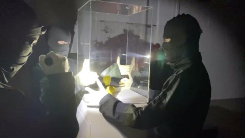 Beuys-Kunstwerk aus Museum geklaut (Foto: SAT.1 NRW)
