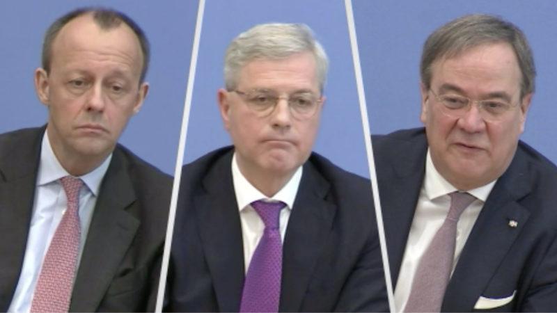 Kampf um den CDU-Chefposten (Foto: SAT.1 NRW)